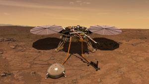 NASA Insight Robotunun Mars Yüzeyine İnişini Canlı Yayınlayacak
