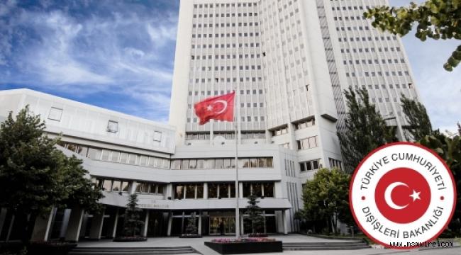 AB'nin siyasi ve mali yaptırım kararlarına tepki: Dışişleri Bakanlığı