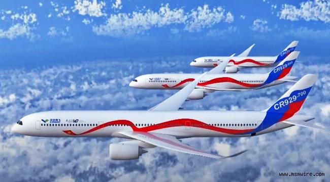 Airbus ve Boeing tekeliyle rekabet edecek ilk jet yolcu uçağı imalatına başlandı: Rusya-Çin